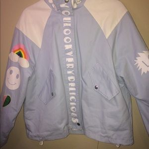 Cute Light Blue jacket